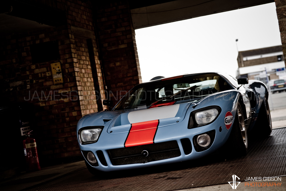 Ford GT40 Nicholas Mee - James Gibson Automotive Photography