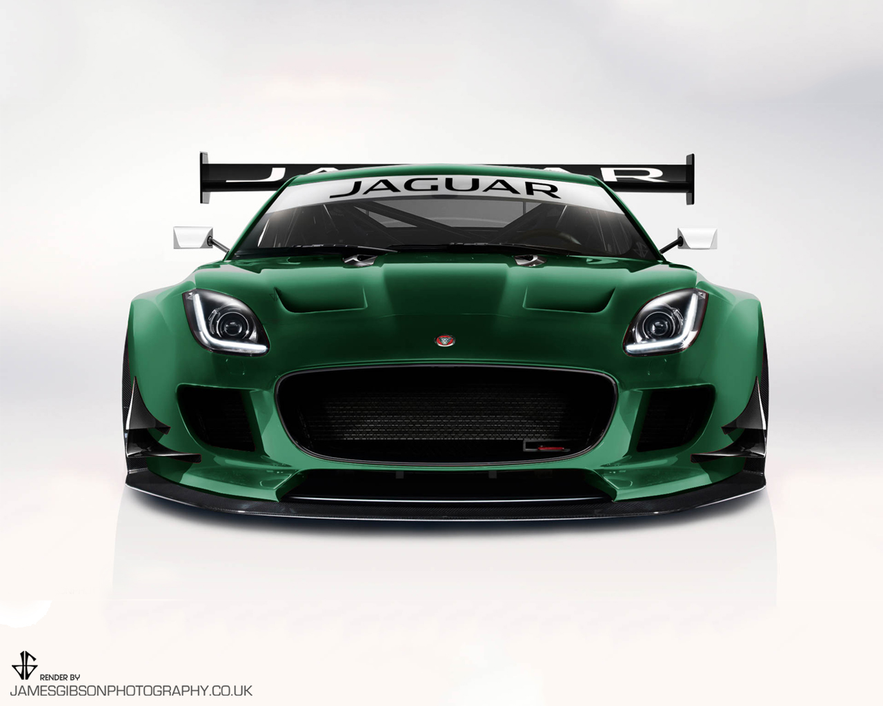 F-type GT3 Front - James Gibson Photography
