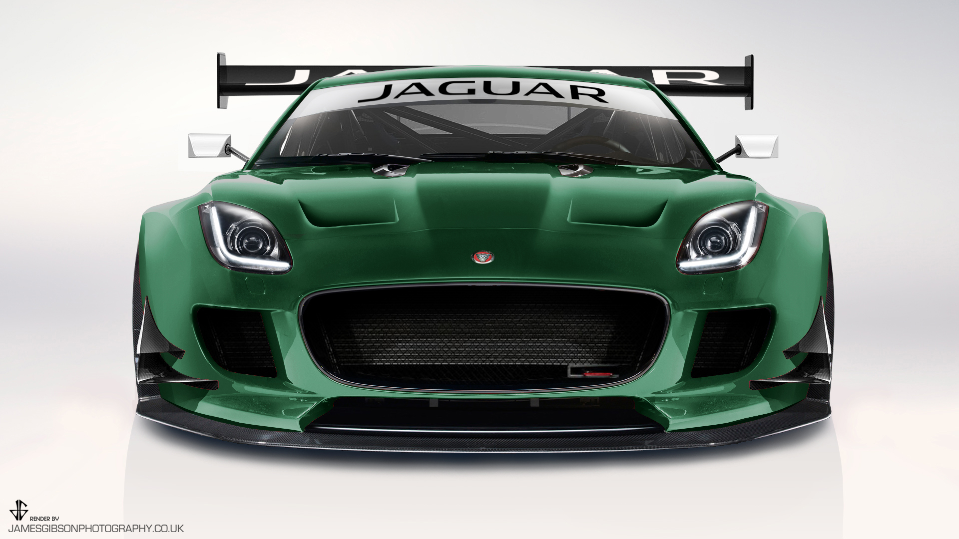 Jaguar ftype GT3 GTE render James Gibson Photography