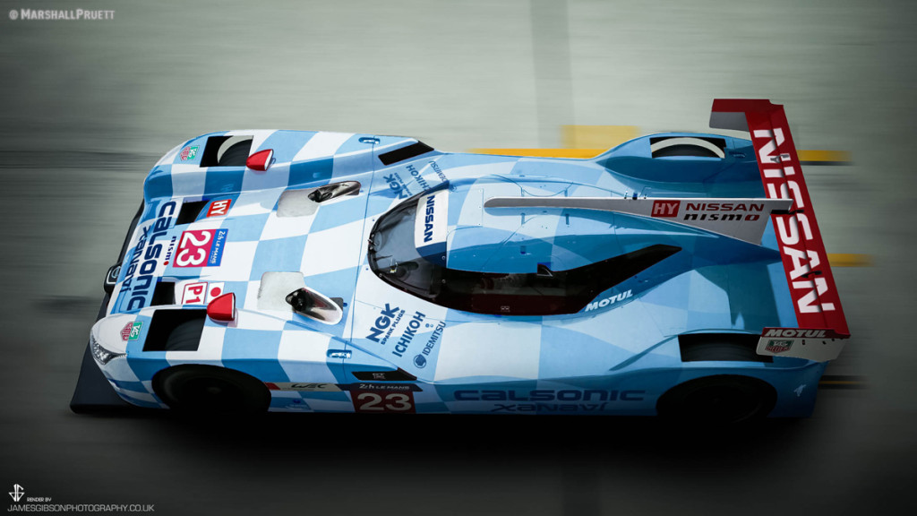 GTR LM NISMO R390 Calsonic Livery