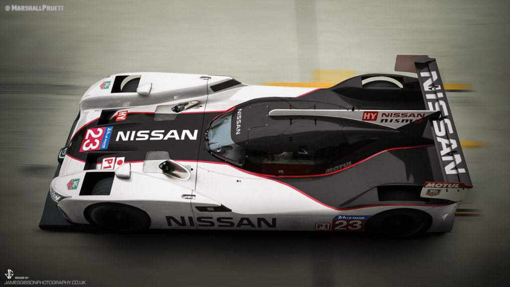 GTR LM NISMO Deltawing Livery