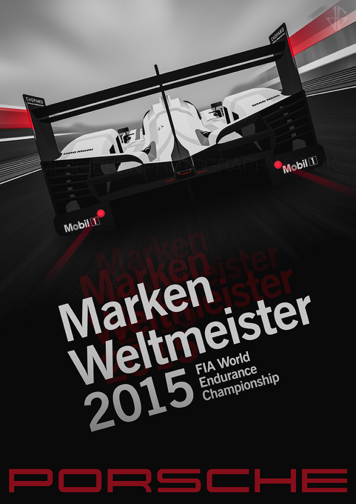 Porsche 919 Team title poster iii wm sml