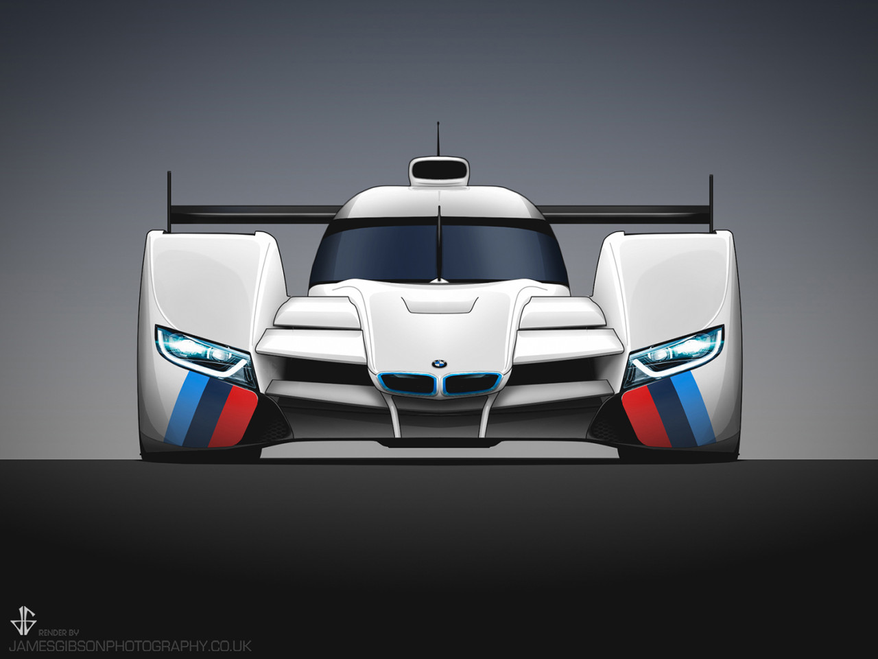 BMW lmp1 concept James Gibson Photography